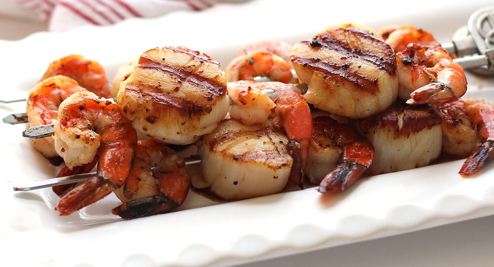 Blood Orange Grilled Scallops or Shrimp | SoGourmet ...